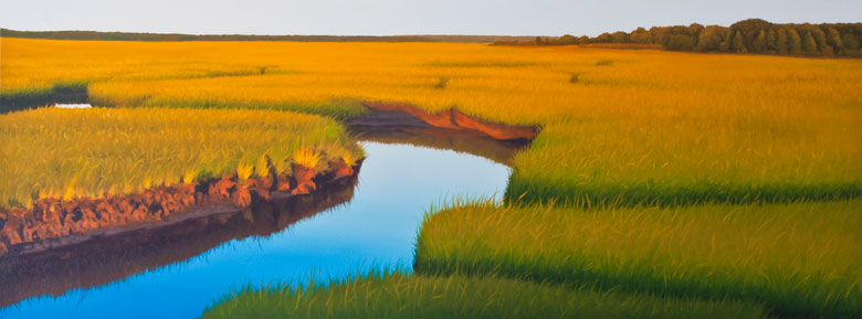 Marsh-Painting-Winding-blue